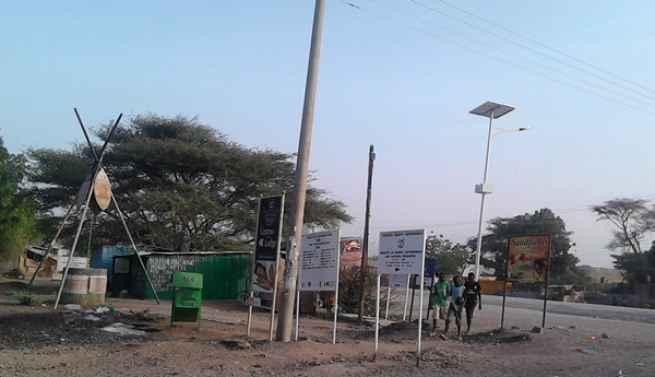 Street Lighting in Lodwar Town
