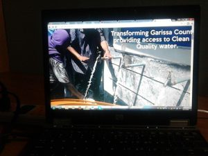 Garissa County water sector.