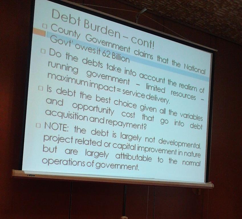 debt, Nairobi County,