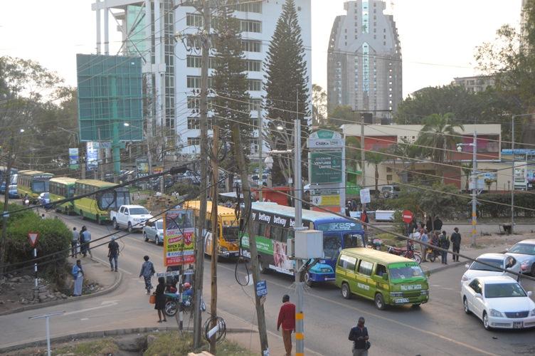 Nairobi City, Traffic jam,