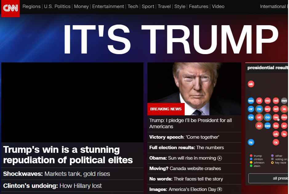 CNN website grab