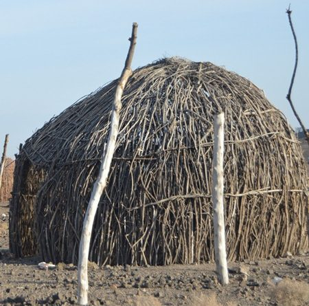 Traditional Turkana House.