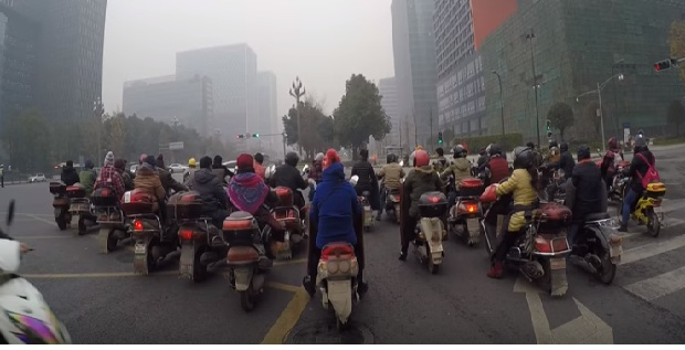 electric scooters in China
