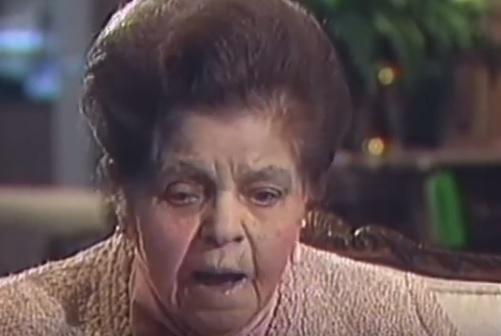 Mrs. B the Nebraska Furniture Mart founder.