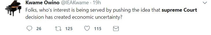 Economist Kwame Owino