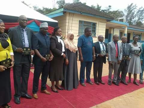 Salim Mvurya Cabinet 2017