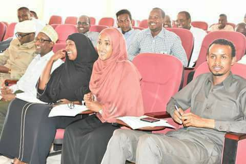 On the Front Row: Wajir County Executive Officers 2017.