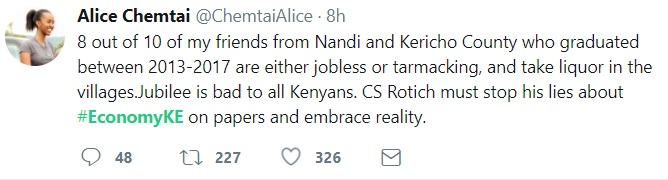 Some Kenyans on Twitter have a different opinion
