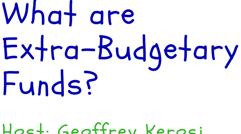 Extra -budgetary funds