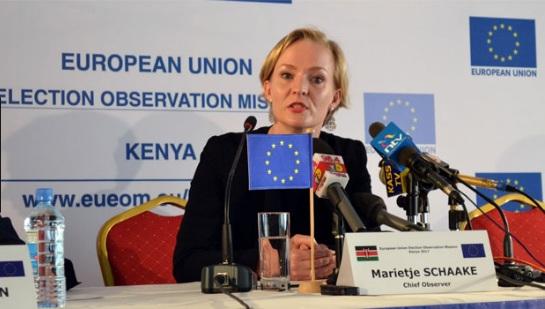 EU Chief observer Kenya