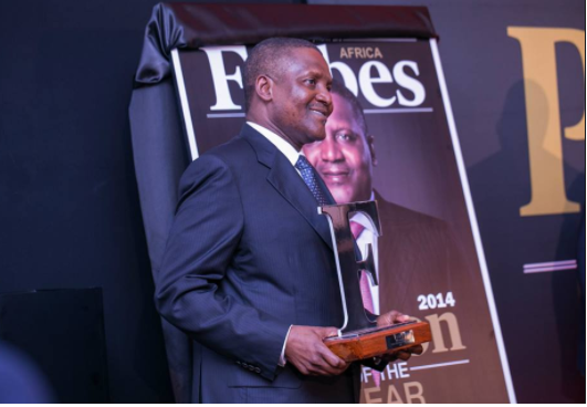 Aliko Dangote, the richest man in Africa seven years in a row.