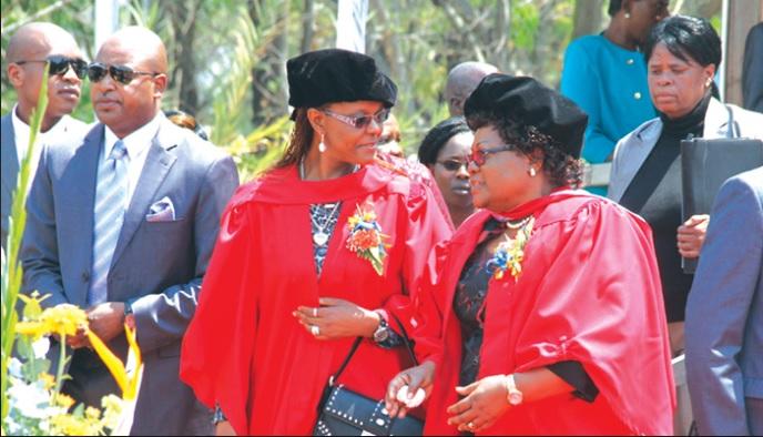 Grace Mugabe PhD