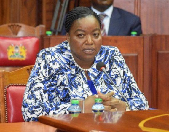 Ambassador Monica Juma the CS Nominee for Foreign Affairs.