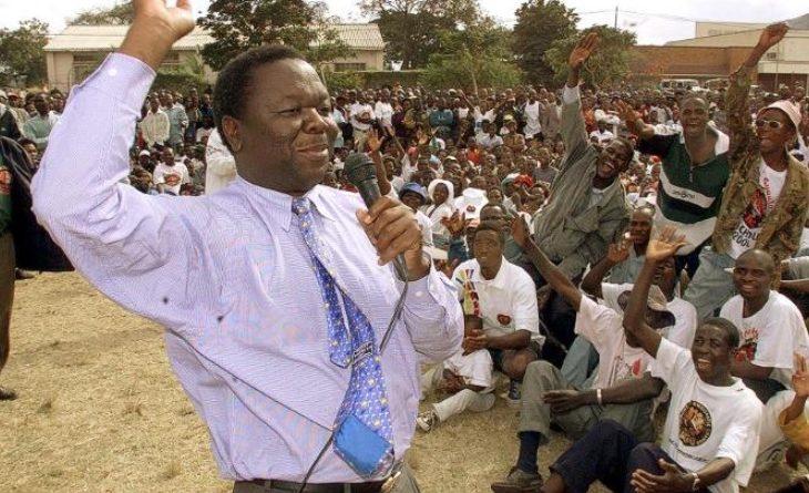 Morgan Tsavangrai former Prime Minister and Long time Opposition leader in Zimbambwe.