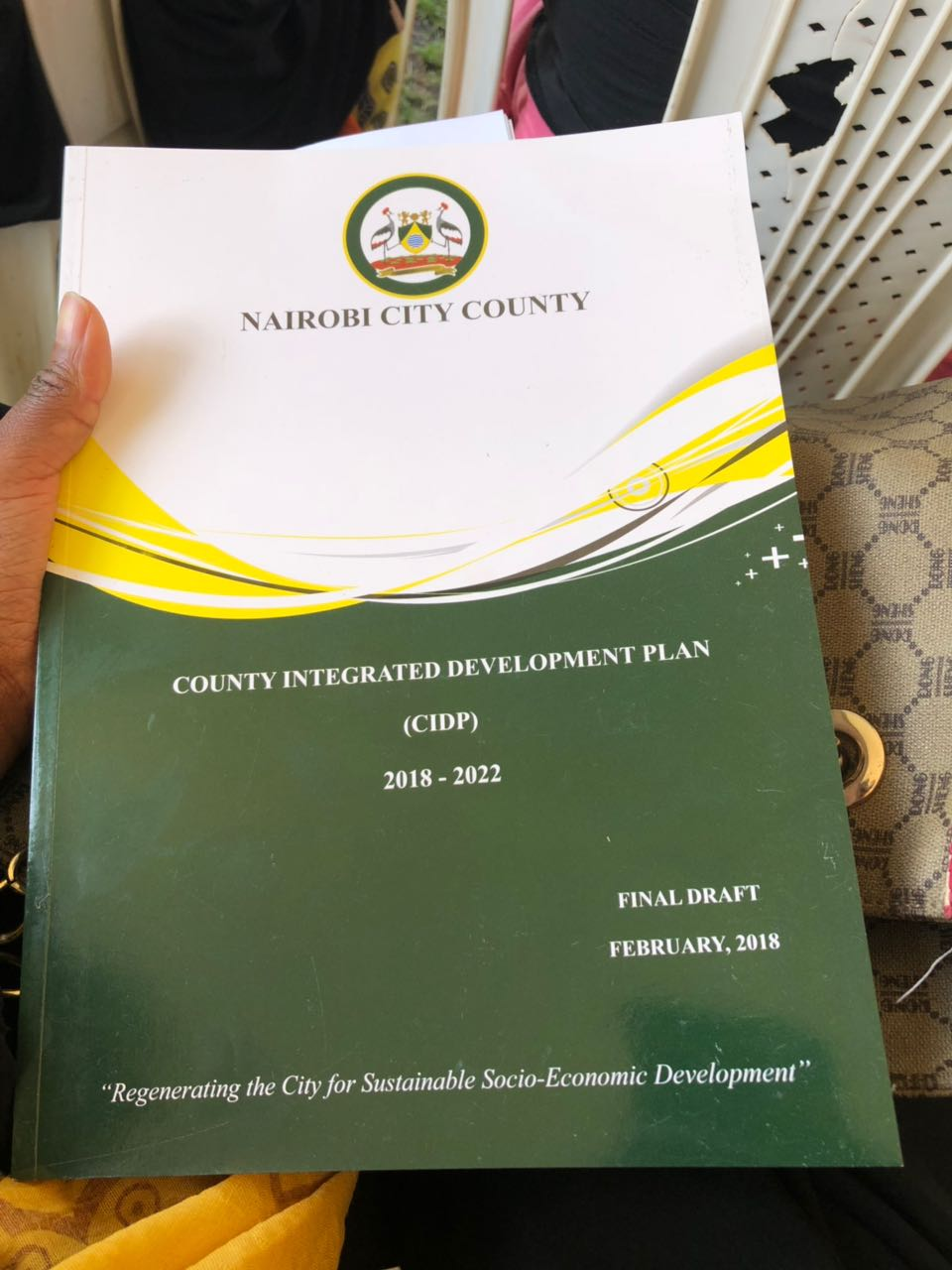 Photo: Nairobi City County Integrated Development Plan 2018-2022