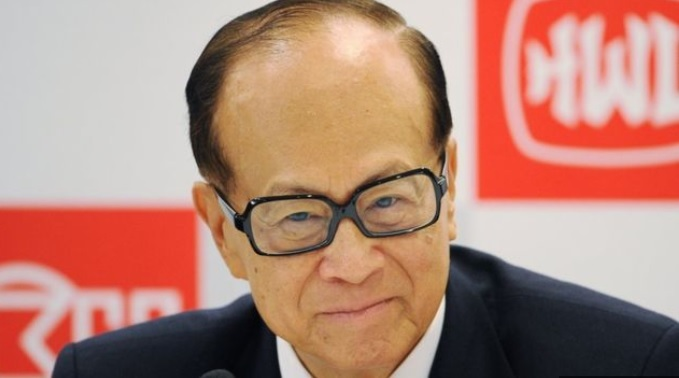Li Ka-Shing the second richest man in Asia after India's Mukesh Ambani