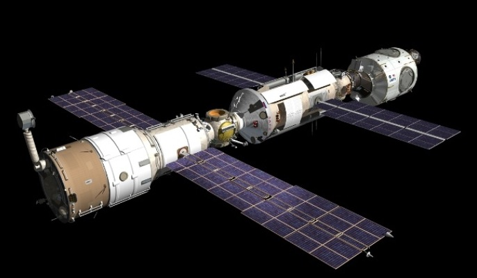 Tiangong-I Space Station was launched in 2011 and this weekend it is crashing on earth.