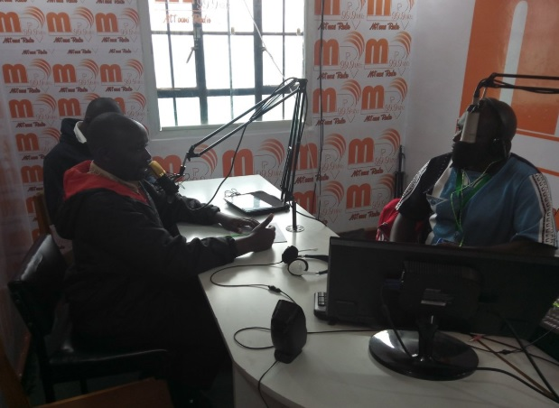 Photo: Today i was a guest at a Morning Talkshow at Mtaani radio in Kabiria. Main objective was to encourage citizens from Dagoretti to participate in policy making particularly budgeting.