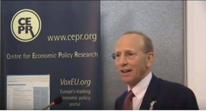 Prof. Richard Baldwin, founder of economic policy blog voxEU.org.
