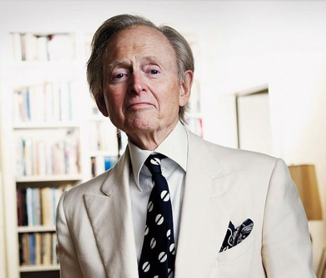 Tom Wolf, a literary wizard who wrote 17 books during his lifetime.