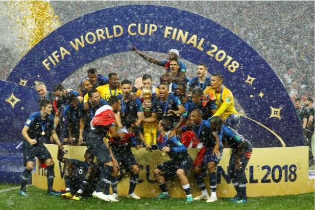 France Beats Croatia in the World Cup Final