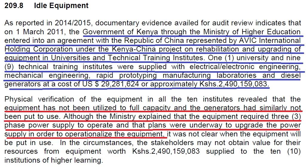 Education sector in Kenya