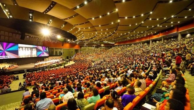 SDA Church Meeting in Jarkata Indonesia.