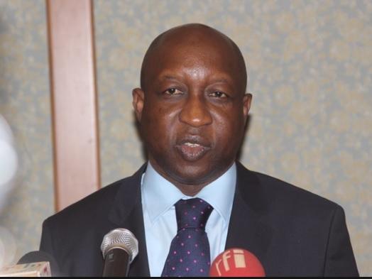 Burkina Faso Prime Minister Paul Kaba Thieba
