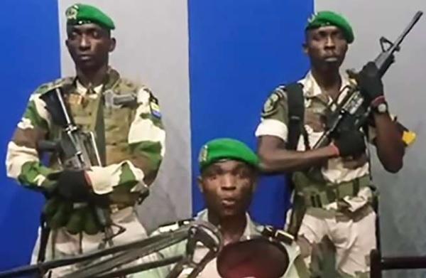 Gabon coup de tat