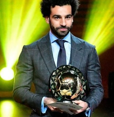 Mo Salah, the African player of the year