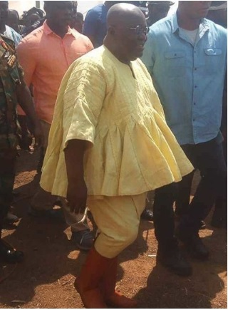 Nana Akufo-Addo dressing style is hilarious