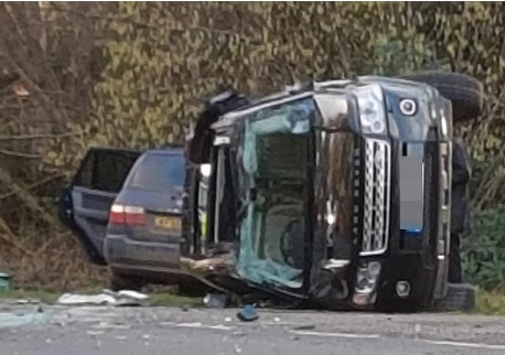 Prince Philip, the Duke of Edinburgh was involved in an accident on Thursday.