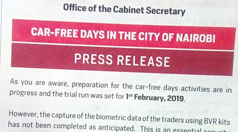 car free days