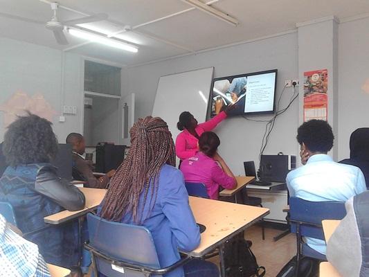 Dot Kenya Trust Empowers IAT Students