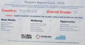Citizen Report Card, SDGs