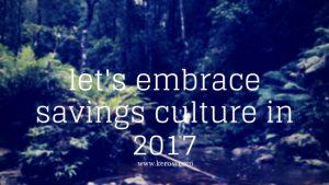 savings culture