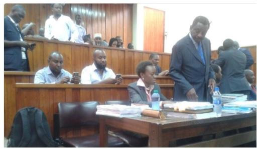 Hassan Joho in court