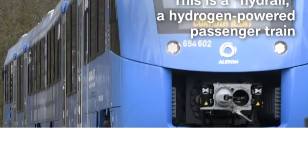 Hydrogen Trains a solution towards reducing gas emissions