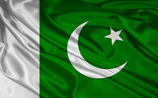 Pakistan Flag. Source: Wikimedia Commons