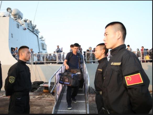 Chinese military base in Djibouti