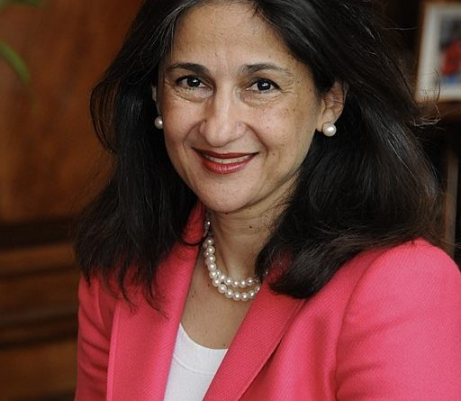 Dame Minouche Shafik new director for LSE. Source: wikimedia Commons