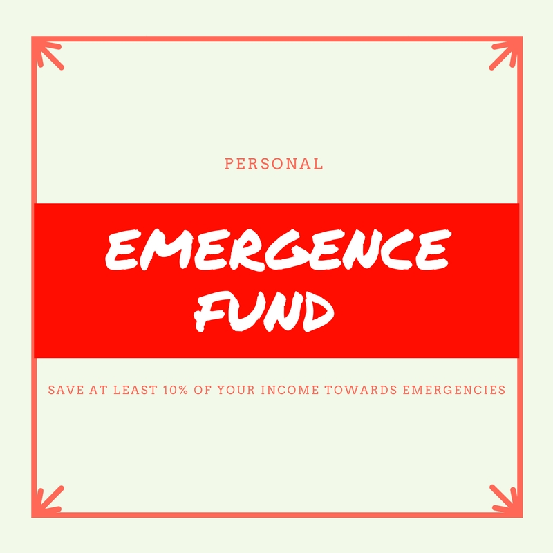 Personal Emergence Fund