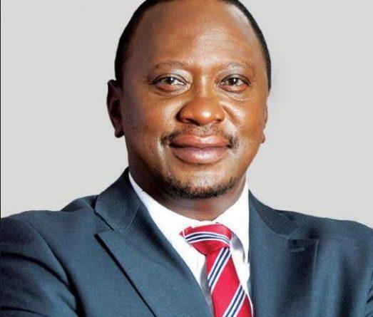 Uhuru Kenyatta from a file photo.