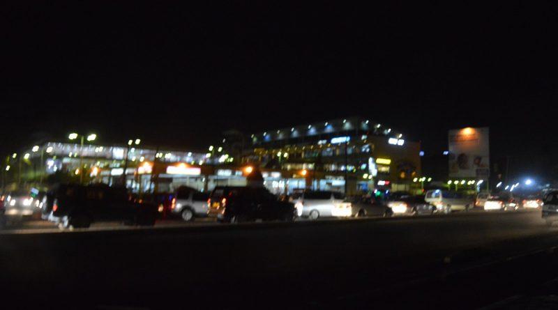 Nairobi City at night.