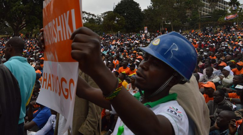 Nasa rally at Uhuru Park