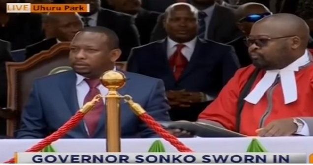 Mike Sonko sworn in as the second govern