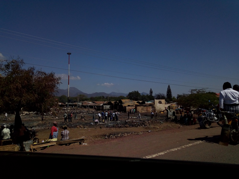 Isiolo Market Fire