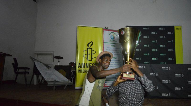 Winners of Inter-Varsity Human Rights Debate 2017