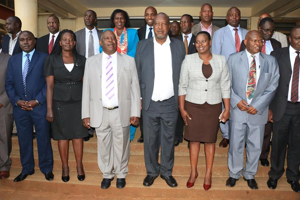 Nyamira County Cabinet Sworn-in