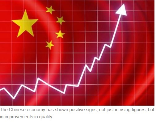 Chinese Economy, thumbs up.